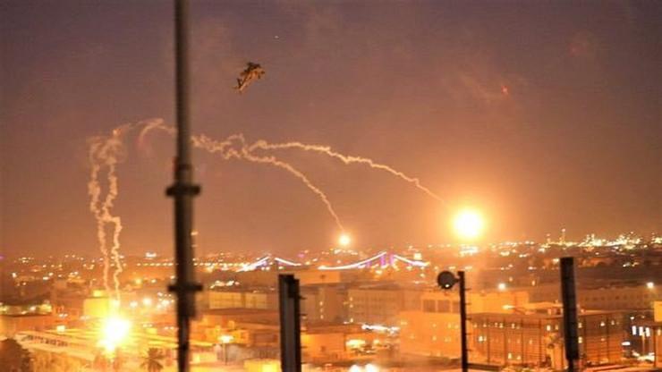 raketiranje Bagdad foto Twitter @kishaycomputer