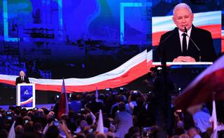 Kaczyński na konwencji: Każda dobra polityka jest trudna. My nie idziemy w tych wyborach po to, by się srożyć i rozliczać