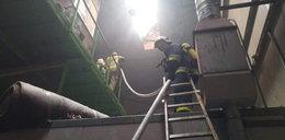 Płonie fabryka na Podlasiu! Ponad 100 pracowników ewakuowanych