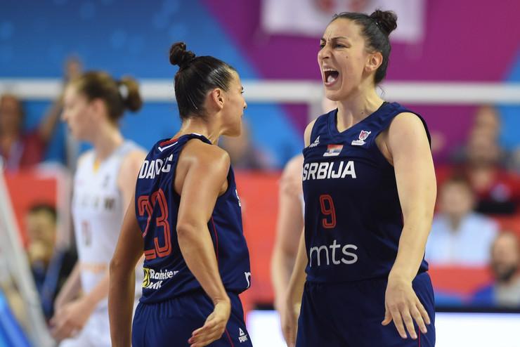 Ženska košarkaška reprezentacija Srbije, Rusije, košarkašice Srbije, Rusije