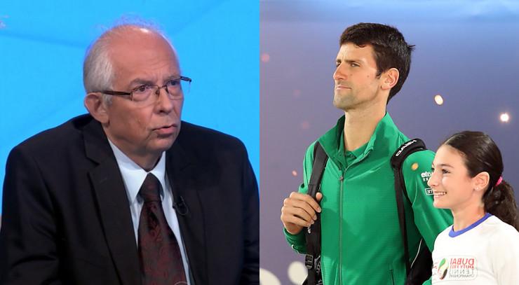 Predrag Kon i Novak Đoković