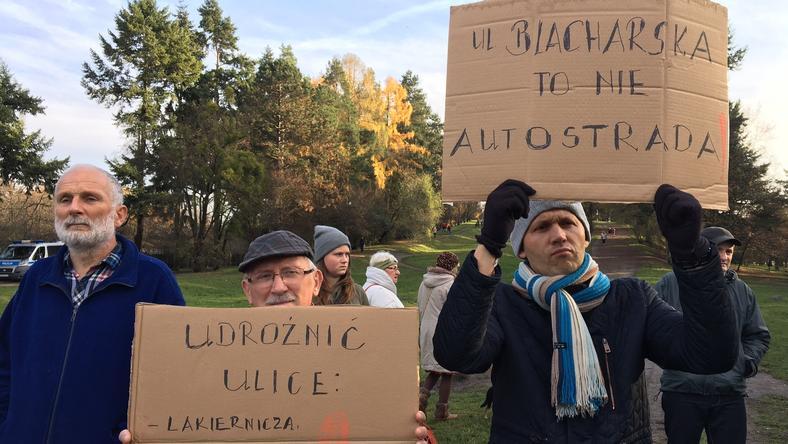 Blacharska to niezwykle ważna dla mieszkańców droga na Grabiszynku