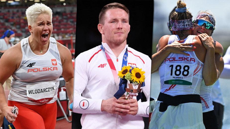 We wtorek 3 sierpnia 2021 r. Polacy wygrali aż cztery medale olimpijskie