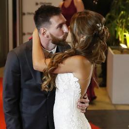 Lionel Messi wziął ślub z piękną narzeczoną. Mamy zdjęcia