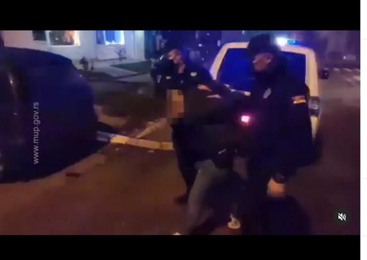 Hapšenje muškarca koji je ispalio nekoliko projektila sinoć