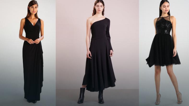 0dac73f582 Sukienki czarne klasyczne nie tylko na studniówkę - Kobieta