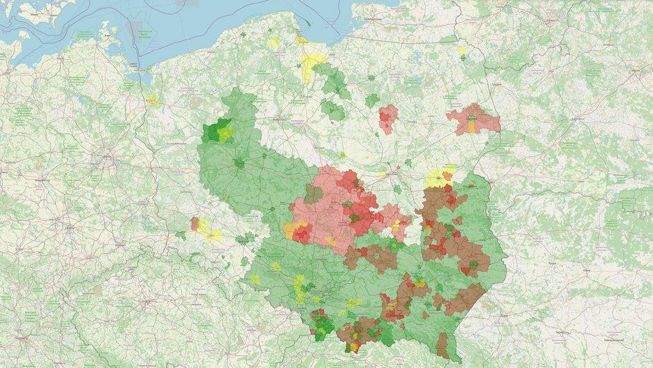 Polska po uchyleniu uchwał anty-LGBT przez kolejne województwa