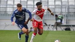 Aurelien Tchouameni joined Monaco from Bordeaux in Janaury 2020 Creator: thibaud moritz