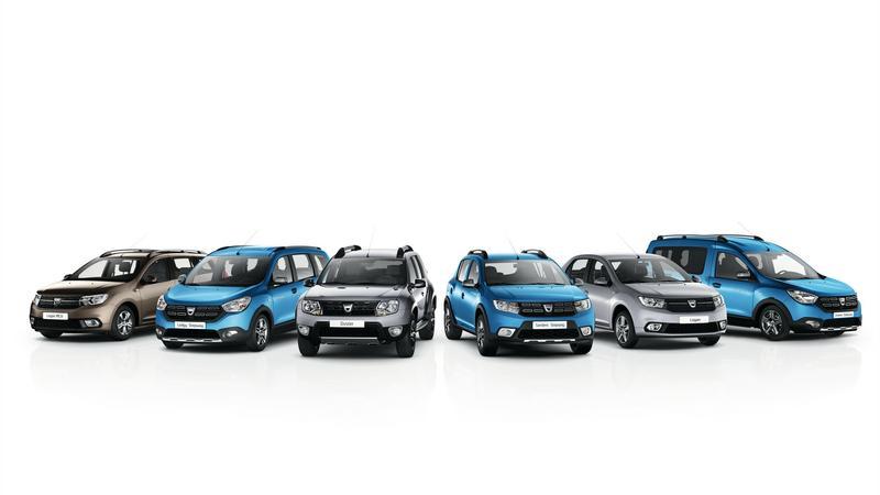 Gama samochodów Dacia