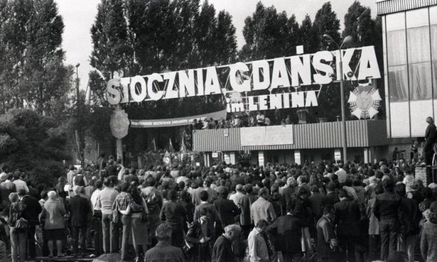 Brama nr 2 Stoczni Gdańskiej im. Lenina (CC BY-SA 3.0 PL)