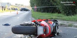 23-letni motocyklista z Bytomia zderzył się z renaultem. Zginął na miejscu