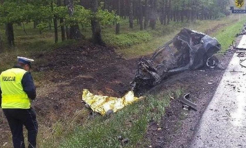 30-latek zginął w płomieniach