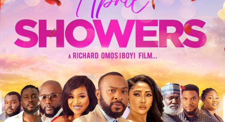 April Showers - BBNaija star Pere's first movie after BBNaija showing in cinemas this Friday October 15th
