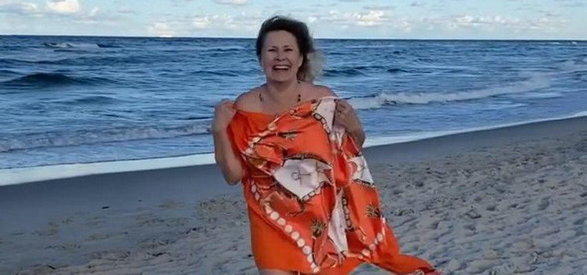 Perła naszego wybrzeża, Grażyna Szapołowska dla Faktu: Kocham Bałtyk, choć się w nim topiłam