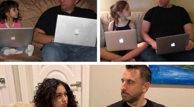 Slike oca i ćerke kroz vreme oduševile korisnike Redita