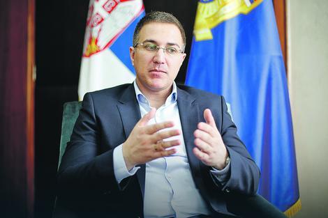 Ministar unutrašnjih poslova Nebojsa Stefanović