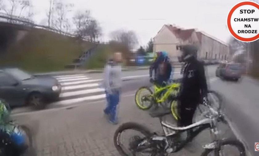 Agresja na drodze. Szokujące nagranie