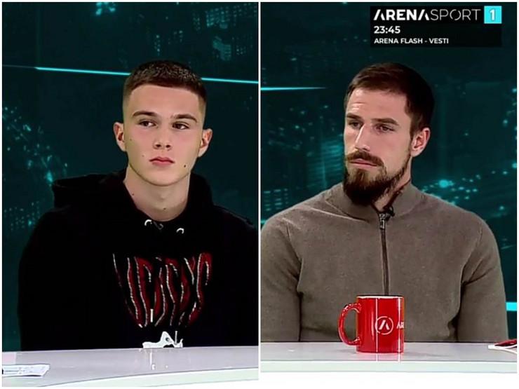 Miloš Degenek i Filip Stevanović