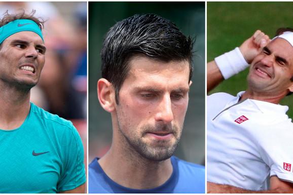 """Pitali Nadala ko je najbolji svih vremena - on, Federer ili Đoković, evo šta je odgovorio i pritom """"mrtav 'ladan"""" SLAGAO!"""