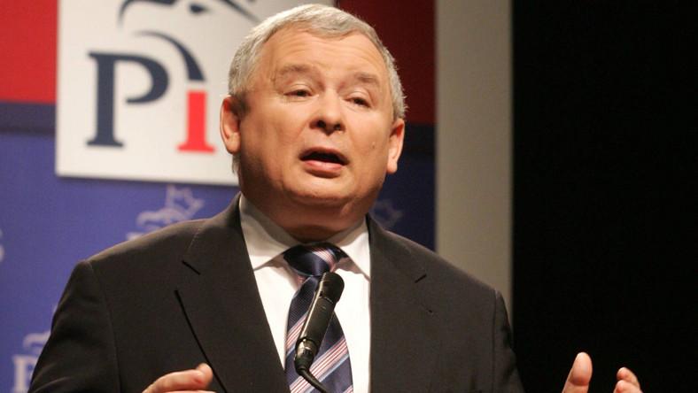 """Jarosław Kaczyński, prezes PiS: Nie będzie """"irlandzkiego cudu"""" w Polsce, jeśli u władzy będzie Platforma"""