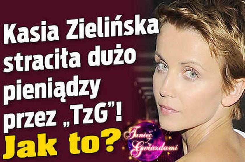 """Zielińska straciła kontrakt przez """"Taniec z gwiazdami""""?"""