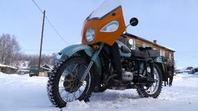 Motocyklowa podróż na Syberię