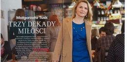 Małgorzata Tusk w eleganckiej sesji zdjęciowej!