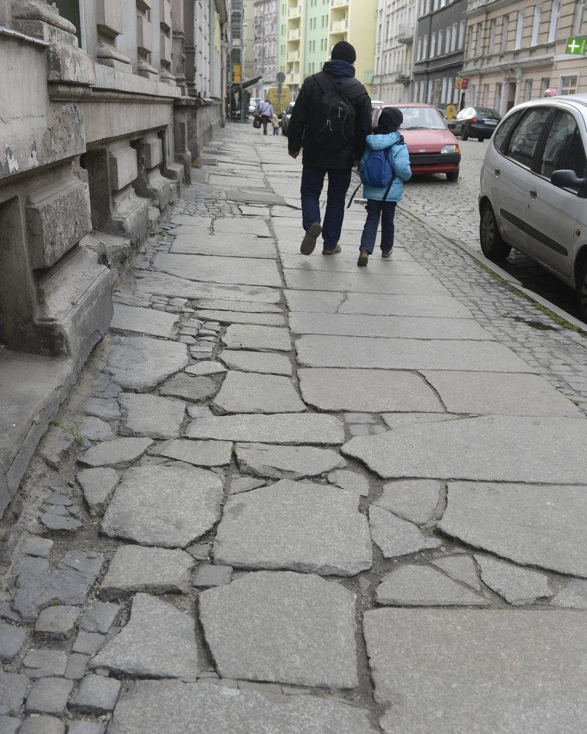 Chodniki we Wrocławiu