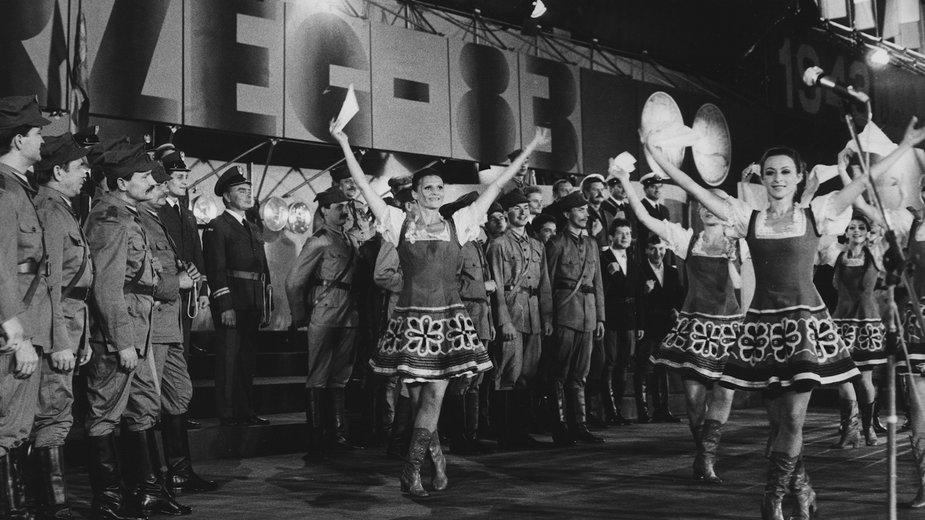 Festiwal Piosenki Żołnierskiej w Kołobrzegu w 1983 r.