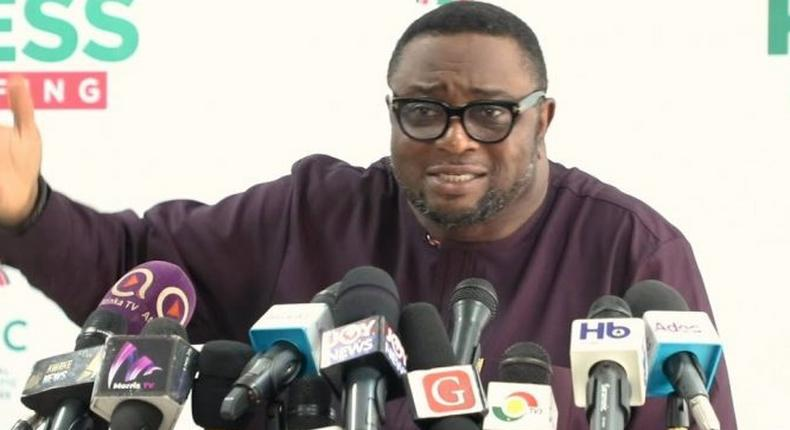Director of Elections of the NDC, Elvis Afriyie Ankrah