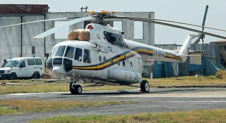 Police aircraft crash-lands at Wilson Airport