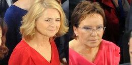 Małgorzata Tusk i Kopacz w podobnych sukienkach!