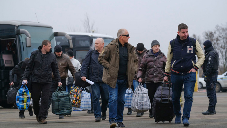 """""""Wymiana rozpoczęła się""""- podała Morozowa. Dodała, że liczba osób, które mają być przekazane Kijowowi, może zwiększyć się."""