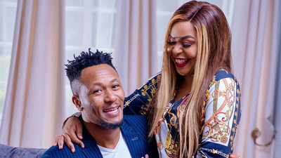 Size 8 accuses DJ Mo of starving her sexually (Video)
