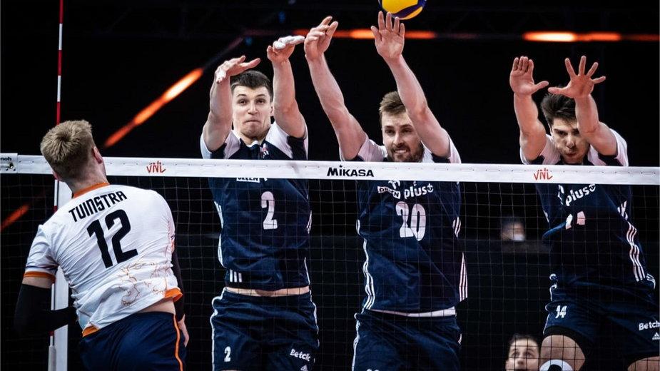 Polscy siatkarze pewnie pokonali Holendrów 3:0