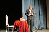 Loznica01 vece s cacijem mihailovicem glumac pred loznickom publikom foto s.pajic
