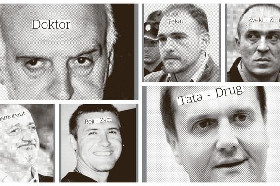 """""""BUDALA"""", ZVER, """"PEKAR..."""" Okoreli srpski kriminalci dobijali su nadimke od kojih prolazi jeza"""