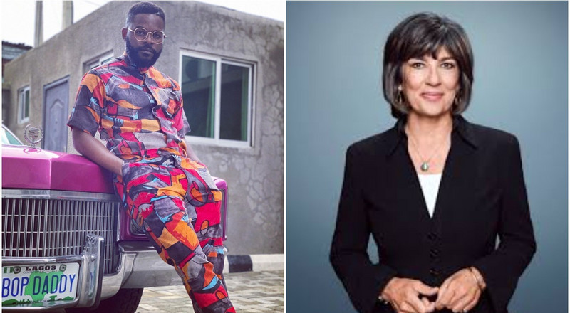 Falz speaks to CNN's Christiane Amanpour on #EndSars protest in Nigeria, says he is not afraid to die