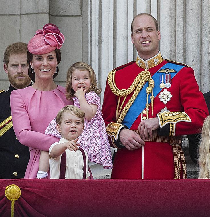 Księżna Kate i książę William z dziećmi, czerwiec 2017 r