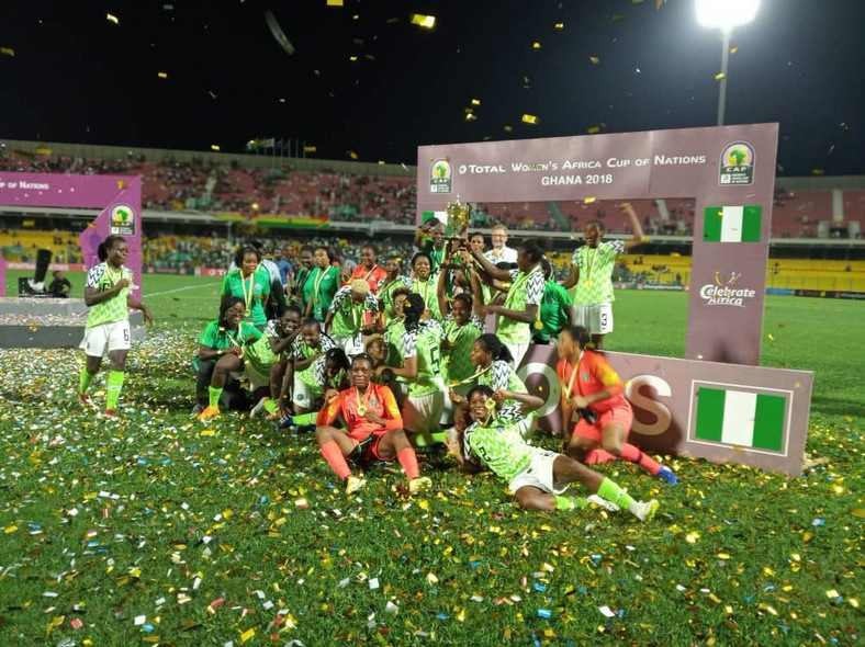 The Super Falcons of Nigeria  are the reigning champions of Africa