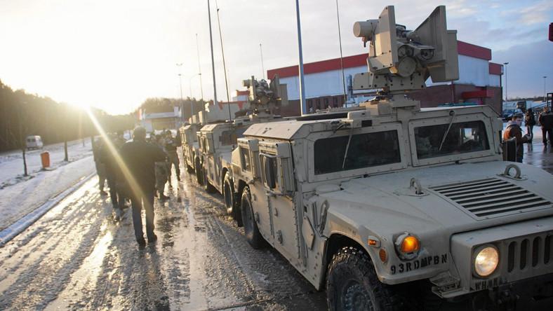 Amerykańskie wojsko w Polsce