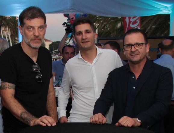 Slaven Bilić, Zdravko Marić i Predrag Mijatović