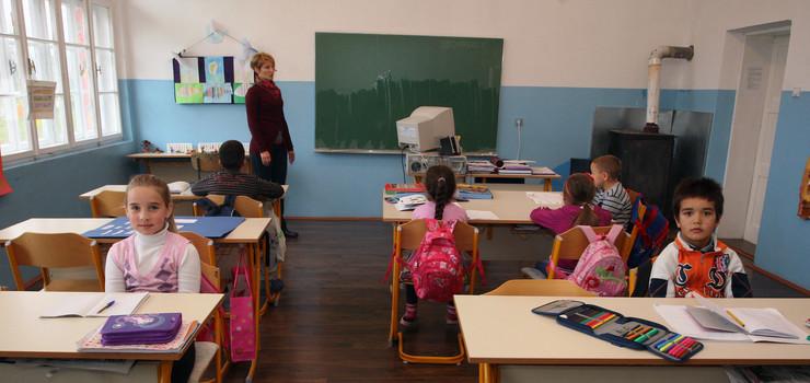 kombinovana nastava- skola u Ledenicama  uciteljica Sanja Bajic foto S PASALIC