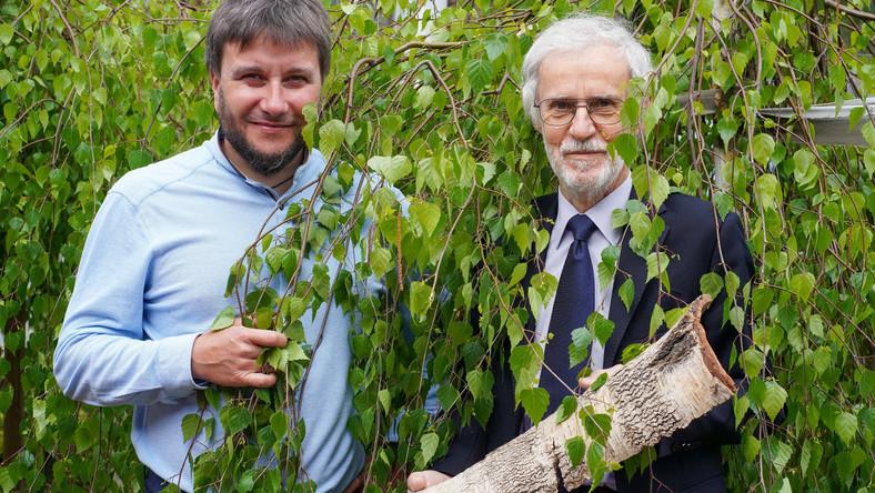 Eureka 15 maja Stanislaw Boryczka (pr) i Andrzej Swinarew (l)