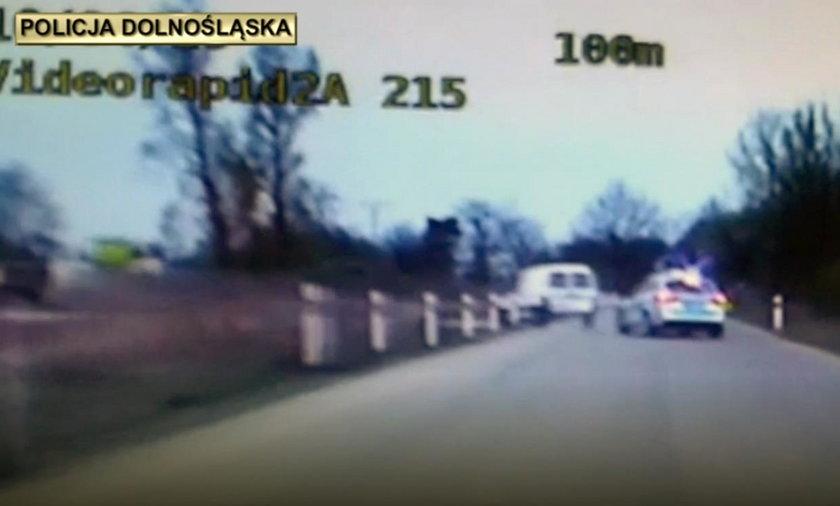Policyjny pościg w Legnicy