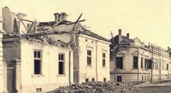 Jalija (Donji Dorćol) nakon razaranja od strane austrougarske vojske