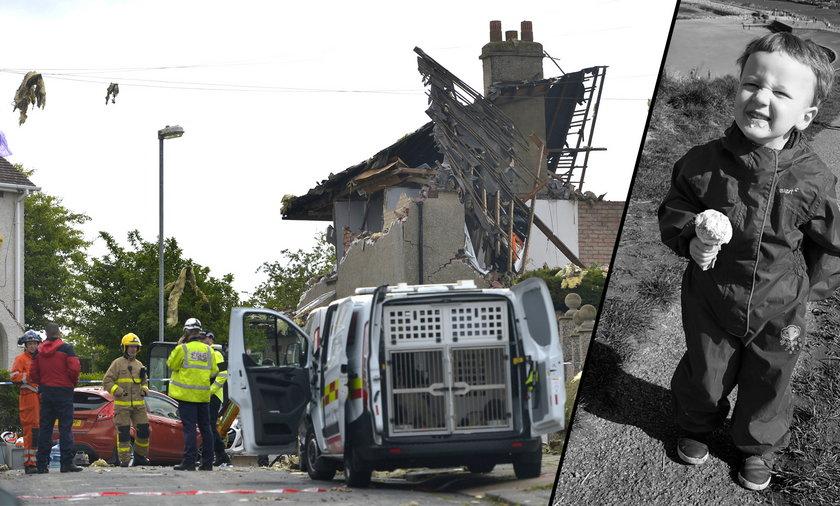 Straszny wybuch gazu wstrząsnął Anglią.