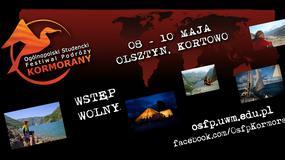 Kormorany 2015 - Ogólnopolski Studencki Festiwal Podróży w Olsztynie w dniach 8-10 maja