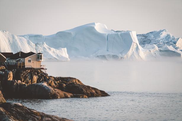 Miasto Ilulissat, Grenlandia