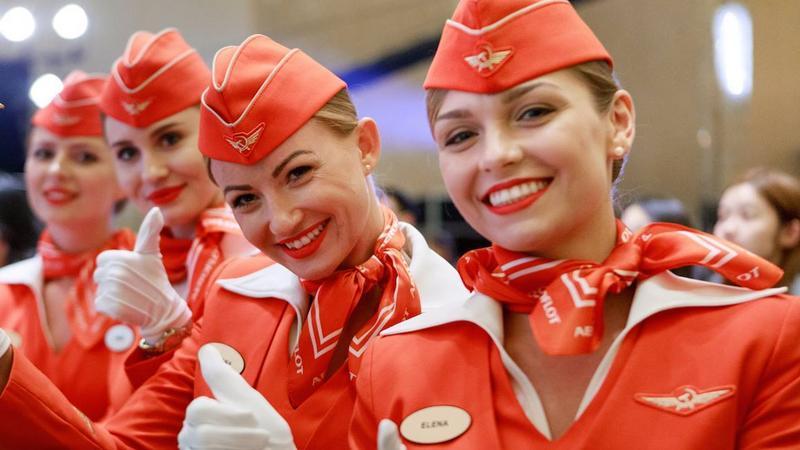 Stewardesy Aerofłotu